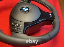 01-06 BMW E46 325 328 330 M3 Steering Wheel Lower Trim Gloss Black