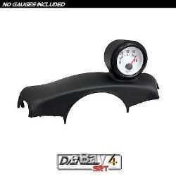 03 06 Nissan 350z Single Gauge Pod 52mm (OEM) Steering Wheel Cover Trim Bezel