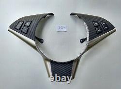 03-10 BMW 5 6 E60/E61/E63/E64 M Tech STEERING WHEEL BUTTONS shift paddles CARBON