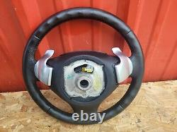 06-11 BMW E90 SERIES STEERING WHEEL W SHIFT PADDLES With BAG OEM