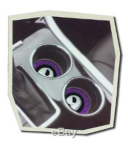10pc Nightmare Before Christmas Floor Mats with Steering wheel cover