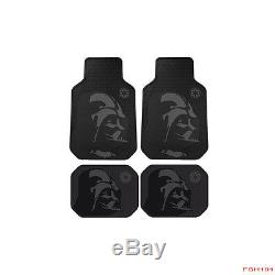 11pc Star Wars Darth Vader Car Truck Seat Covers Floor Mats Steering Wheel Cover