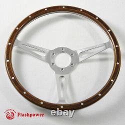 13 Classic Laminated wood steering wheel MG MGA MGB Midget