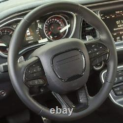14-21 Jeep Grand Cherokee SRT Carbon Fiber Molded Steering Wheel Trim Cover