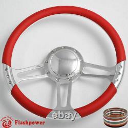 14 Billet Steering Wheels Black Half Wrap GMC Trucks Blazer El Camino Jimmy
