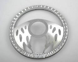 14'' Billet Steering Wheels Burgundy Half Wrap Custom Safari Grand prix GM Ford
