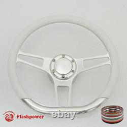 14 D Type Billet steering wheel Hot Rod GM Buick Riviera Lesabre