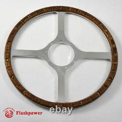 15 Classic wood steering wheel Restoration Vintage Ford Mustang F 100