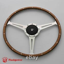 15 Classic wood steering wheel Restoration Vintage Jaguar XK140 XK150 XJ6, XJ12