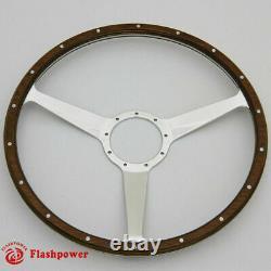 17 Classic wooden steering wheel Restoration Transporter Ford Mustang