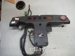 1989 89 Honda Pilot Fl400 Fl 400 Fl400r Steering Wheel Cover Gauges Light Bin289