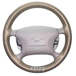 1994-98 Ford Mustang Wheelskin Steering Wheel Cover Saddle Sn95 Free Shipping