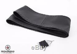 1995 Ford F150 F250 F350 XLT Eddie Bauer XL -Leather Steering Wheel Cover Black