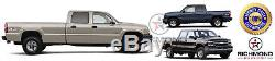 1999-2002 Chevy Silverado 1500 2500 3500 -Leather Steering Wheel Cover, Black