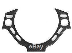 (1) Matte Dry Carbon Fiber Steering Wheel Cover Fits Nissan GTR GT-R R35 R-35