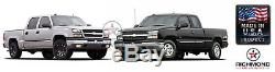 2001 2002 Chevy Silverado 3500 LT LS -Leather Wrap Steering Wheel Cover, Black