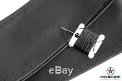 2002 2003 2004 GMC Envoy SLT XL SLE -Leather Wrap Steering Wheel Cover, Black