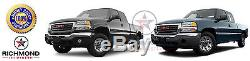 2003 2004 GMC Sierra 2500 2500HD SLT SLE -Black Leather Steering Wheel Cover