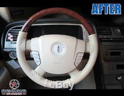 2003-2004 Lincoln Navigator Ultimate Package -Leather Steering Wheel Cover, Tan