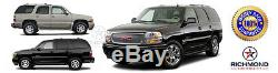 2003-2006 GMC Yukon Denali XL-Tan Leather Steering Wheel Cover withNeedle & Thread