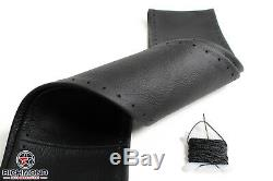 2004 2005 Chevy Suburban 1500 2500 LT LS Z71 -Black Leather Steering Wheel Cover