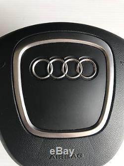 2005 2006 2007 2008 Audi A6 Oem Steering Wheel Cover Used