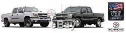 2005 2006 Chevy Silverado 2500 2500HD LT LS -Leather Steering Wheel Cover Black