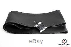 2006 2007 2008 Chevy Trailblazer LT LS SS -Leather Steering Wheel Cover, Black