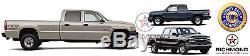 2007 Chevy Silverado 2500HD 3500 Classic-Leather Wrap Steering Wheel Cover Black