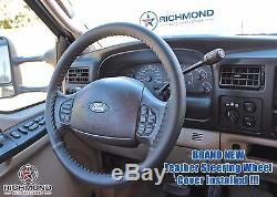 2007 Ford F250 Lariat OUTLAW 4x4 Diesel Crew-Cab -Leather Steering Wheel Cover