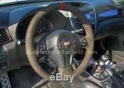 2008 2014 Subaru WRX/STI suede steering wheel wrap