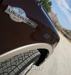 2008 Ford F150 4X4 SuperCrew Crew-Cab King Ranch -Leather Steering Wheel Cover