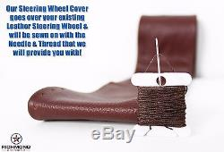 2013-2014 Ford F-150 King Ranch Lifted Lift Kit -Leather Steering Wheel Cover