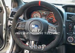 2015 2019 Subaru WRX/STI suede steering wheel wrap
