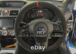 2015 2020 Subaru WRX/STI suede steering wheel wrap