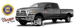 2017 2018 Dodge Ram 1500 2500 3500 Laramie -Leather Steering Wheel Cover, Brown