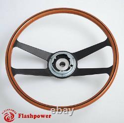 395mm Reproduction VDM wooden steering wheel Restoration Porsche 911 912 914