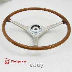 420mm VDM Wood Steering Wheel Porsche 356B 356C Carrera 2000 T6 T5