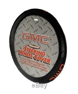 4PC Universal Front & Rear Floor Mats & GMC Steering Wheel Cover New Free Ship