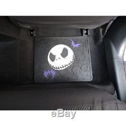 5pcs Nightmare Before Christmas Car Truck Floor Mats Steering Wheel Cover Set