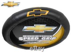 6Pc Chevrolet Chevy Elite Seat Covers & Runner Floor Mat & Steering Wheel Cover