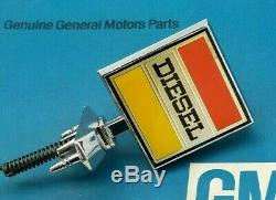 80 Chevy Gmc Diesel Truck Hood Ornament Emblem 73 74 75 76 77 78 79 Ck C&k C K