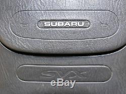 91 96 Jdm Subaru Svx Cxw CXD Alcyone Wheel Steering W Center Cover Rare Item Oem