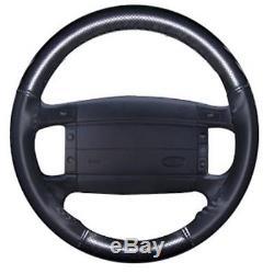 93-95 F-150 Svt Lightning Wheelskin Steering Wheel Cover Black Perforated
