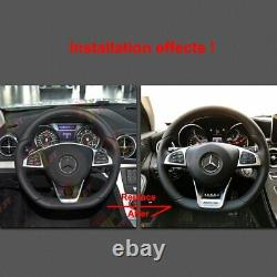 AMG Edition 1 Performance Steering Wheel Low Cover Trim for Benz W117 W205 W218