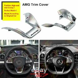 AMG Performance Steering Wheel Cover Trim for Mercedes W205 W213 W218 C200
