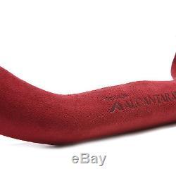 Alcantara Car D Cut Steering Wheel Cover Free Size 100% Italy Original Fabric