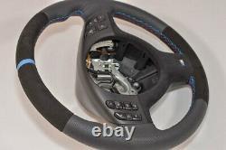 Alcantara Steering Wheel BMW M3 E46 E39 X5 E53 M5 Suede / leather BLUE perform