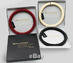 Alcantara Steering Wheel Cover for 1999 2008 TIBURON / TUSCANI