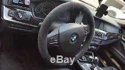 Alcantara Steering Wheel Cover for BMW 2010 2016 BMW 528i / F10